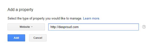 اضافه کردن سایت به وب مستر